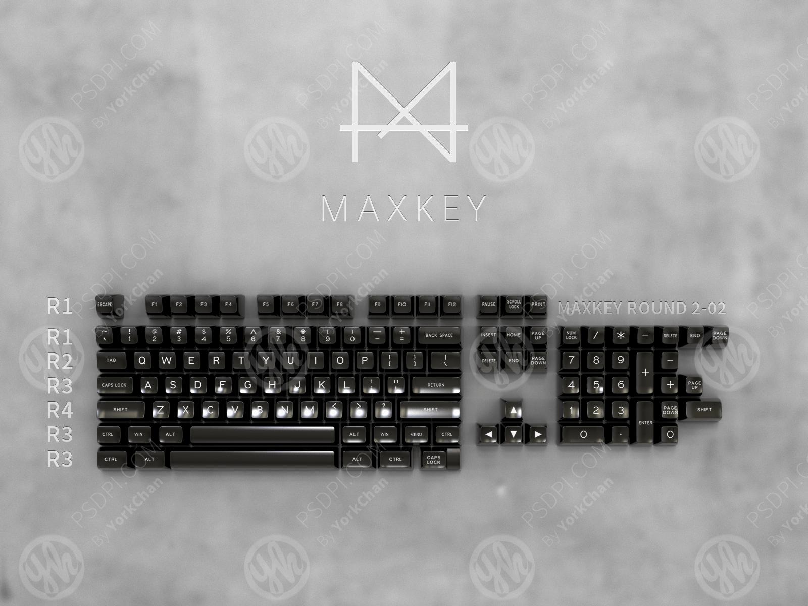 sa maxkey black