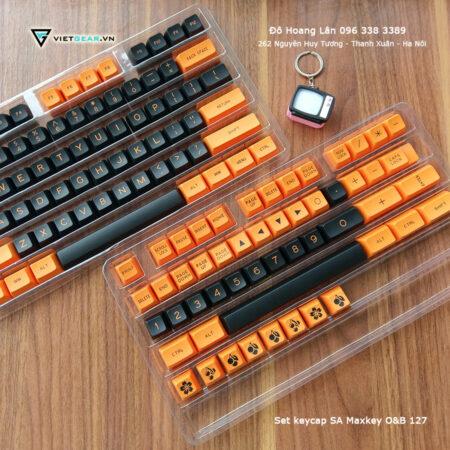 [Order]Set keycap SA Maxkey O&B 127 nút