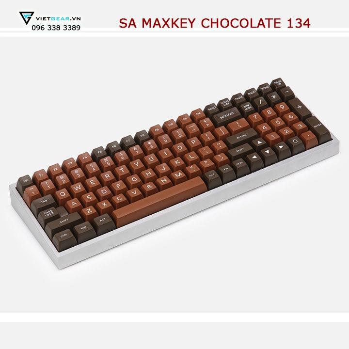 SA Maxkey Chocolate 134 nút, tặng kèm keypuller