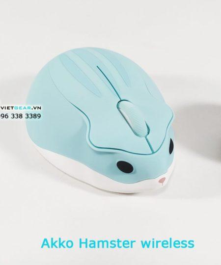 Akko Hamster chuột không dây 1200DPI, cute dễ thương