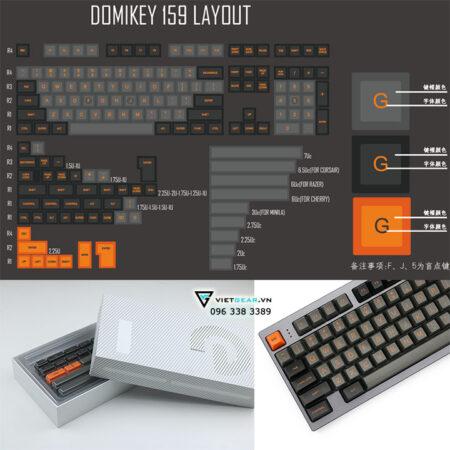 SA Domikey Dolch Orange 159 nút, tặng kèm keypuller