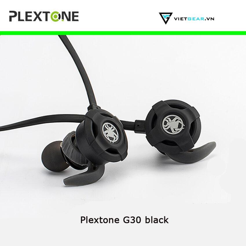 Tai nghe Plextone G30 có micro, chất lượng cao, full phụ kiện màu đen