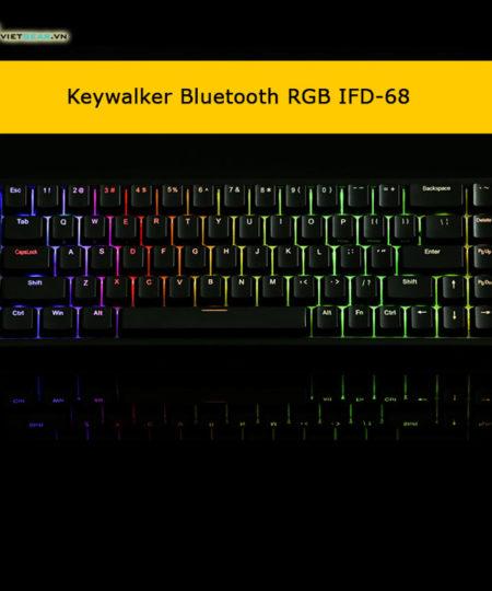 Bàn phím cơ Keywalker IFD-68Bluetooth RGB