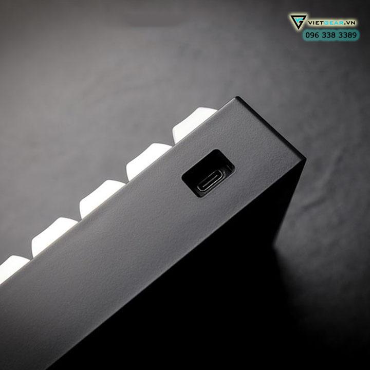 Bàn phím cơ Vortex Tab 60%, cherry switch, bluetooth chất lượng cao