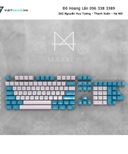Set keycap SA Maxkey Cyan 127 nút
