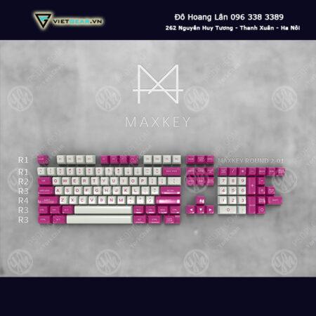 Set keycap SA Maxkey Valentine 119 nút