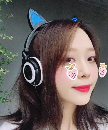 Tai nghe tai mèo cat ear phone