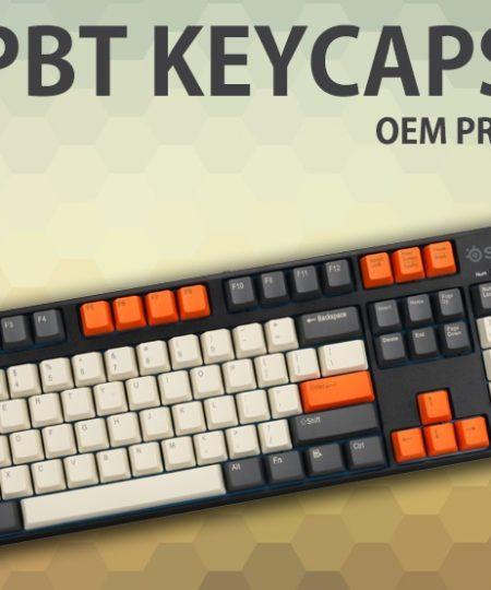 Bộ nút bàn phím, keycap Carbon PBT
