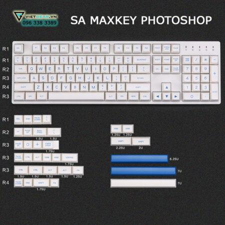 sa maxkey photoshop