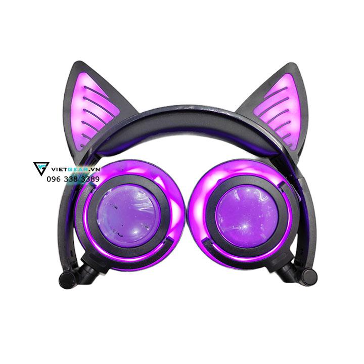 tai nghe tai mèo bluetooth