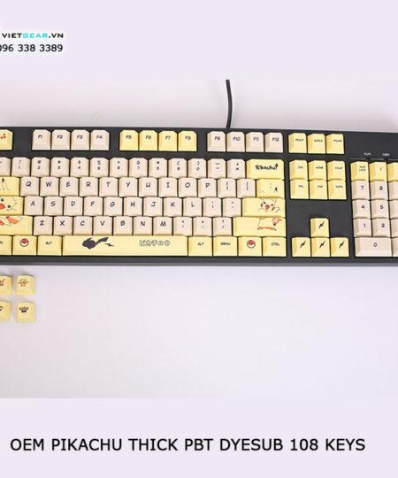 keycap pikachu pbt