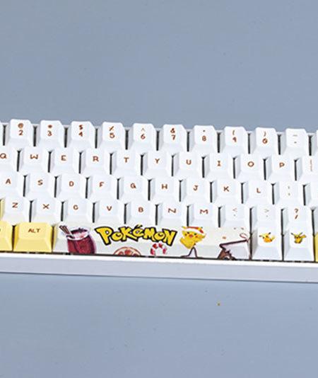 keycap pokemon pbt