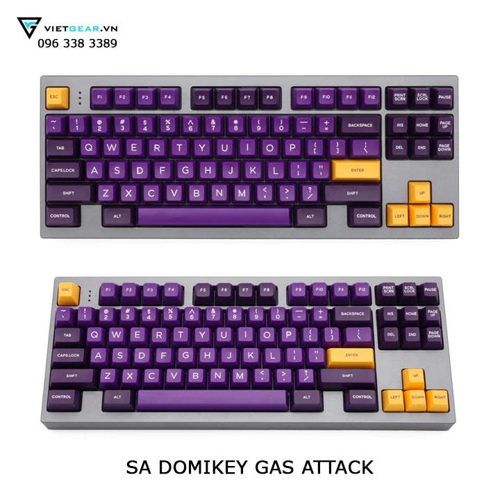sa domikey gas attack