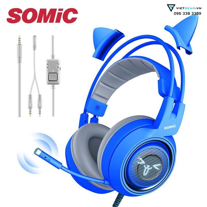 somic g951s mầu xanh