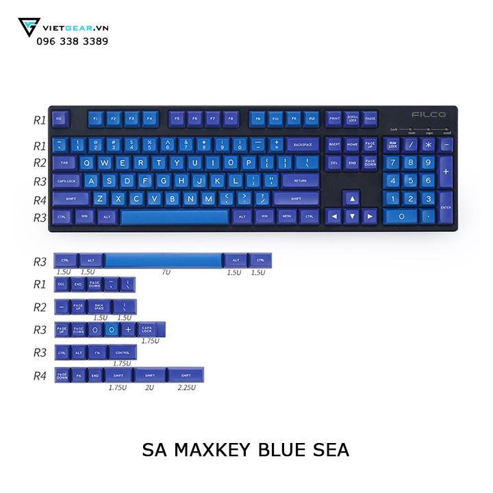 sa maxkey blue sea